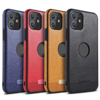 Business Leder Muster Telefon Hüllen für iPhone 12 Mini 12 11 Pro Max iPhone XR xs max 6 7 8 Plus 360 Schutzfälle