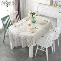 Table Cloth 1pcs PVC Tablecloth European Bronzing Waterproof Oilcloth Cover Home Decoration Multipurpose For