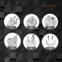 Adaptateur de bouchon de bande de bande de puissance universelle 6 USB Port US / UK / UE Multifonctionnel Smart Home Electronics EEF3559