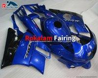 Para HONDA CBR600 F2 F2 1991 1992 1993 1994 CBR 600 600F2 91 92 93 94 CBR600F2 Blue Black Motorcycle Failings