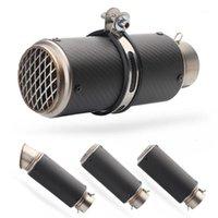 Escape de tubo de motocicleta de 51 mm / 60 mm con DB Killer Motorcycle Tubería de escape Muffler para silenciadores de fibra de carbono