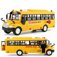 1:36 جودة عالية مجموعة كبيرة من الأطفال حافلة المدرسة لعبة الجمود سيارة مع الصوت والضوء الموسيقى نموذج سيارة الأطفال rc سيارة اللعب LJ201209
