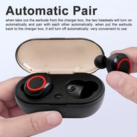 transporte Capacidade DHL DT 2 TWS Wireless Stereo Earbuds Bluetooth Headset Touch Control fone de ouvido Handsfree com microfone 230mAh Battery