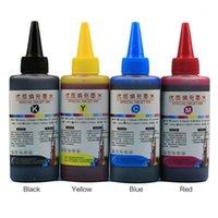 100 ml de recarga Kit de tinta universal Impresora de tinte suministros de escritorio Impresión de papel Reemplazo para Canon PG-245 CL-246 PIXMA MG24201