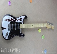 الجملة سانت اللهب الكهربائية نمط مخصص الجسم الغيتار