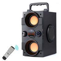 TopRoad Portable Bluetooth Speaker 30W Big Power Baixo Baixo Subwoofer Subwoofer Suporte Remoto Controle Remoto FM Mic TF Aux USB1