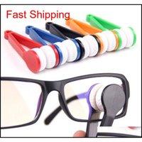 Sun Glasses Lens Одежда Eyeglass Microfiber Щетка Очиститель Новые Случайный Отправка Глазные Стекло Солнцезащитные Очки Оценка Очистка Очистки Стирные Очистители Aeibb