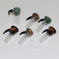 Кальяны тяжелые цветные мужские стеклянные чаши 14 мм 18 мм бонг чаша многоцветный для водопроводных труб RECLAIM CABLES CABLES CALLICONE Nectar Collectors