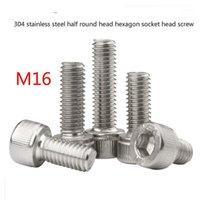 304 Edelstahlbecher Kopf Sechskantbuchse Schraube Zylindrische Kopfschraube Rändelschraube HM Extended National Standard M161