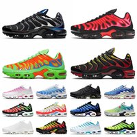 nike air max plus tn nike tn max air plus tn أعلى جودة رجل tn زائد الاحذية نيك المرأة Black Silver University Red Green White Pink TN Leamers