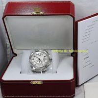 2 نموذج في المربع الأصلي أعلى جودة ساعة اليد رجل الصلب عيار دي 42 ملليمتر W7100015 3389 الصلب التلقائي ساعة اليد الميكانيكية الرجال الساعات