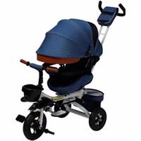 Os novos carrinhos de bebê de três rodas Hot saels assento dobrável carrinho de assento 1-5 anos crianças bebê rotatable luz carrinho de luz