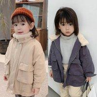 Abrigo invierno ropa para niños para niños niñas ropa de bebé espesar chaqueta para niños pequeños niños