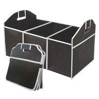 Organisateur multi-poche de voiture EAFC de grande capacité de stockage pliant sac de rangement de sacs de rangement et de rangement LJ201119