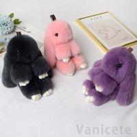 Conejo peluche juguetes pelo conejito peluche muñeca para amante amigos festival regalo adorable conejo colgante fiesta fiesta 300pcs t1i3119