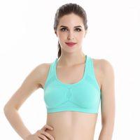 Ginásio Roupas Senhoras Esportes Stretch Colete Fitness Tops Yoga Bra Texto Confortável e Soft1