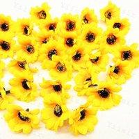 시뮬레이션 해바라기 단일 꽃 장식 결혼식 축하 홈 테이블 가짜 해바라기 인공 꽃 머리 장식 새로운 0 1YS G2
