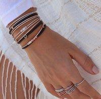 Роскошь CZ Dubai Bridal Свадебный подарок, искрок Cubic Zircon Baguette Baglete Bangle Gold Color Ювелирные Изделия для женщин Y1126