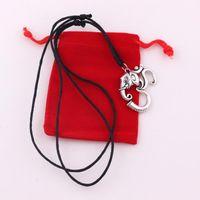 Anhänger Halsketten Om Yoga Halskette Mandala Ganesh Elefant Hindu-Talisman-Wachsseil
