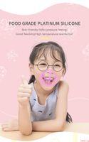 Child 3D Mask Bracket Inner Support Protection Silicone Stand Face Mask Enhancing Breathable Valve Mouth Holder Frame Reusable Children DHL