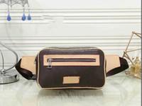 2021 nouvelles sacs de ceinture à la mode Sac de taille Mens Bumbag Sac à dos Hommes Fourre-tout Bandbody Sac sac à main Messenger Sac Hommes Sac à main Mode Portefeuille Fannypack