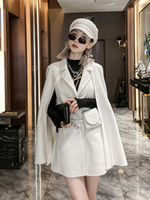 1 Doble Sides Cashmere Shawl Coat New Style Cape en otoño 2020