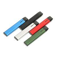 정통 새로운 일회용 vape 펜 dcpod vape 키트 210mAh 재충전 가능한 사각형 세라믹 코일 DAB 펜 예열 잠금 카트가있는 두꺼운 오일 CO2 용