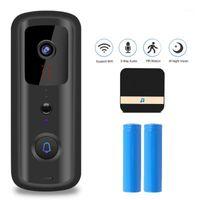 WIFI Wireless Home Vidéo Doonbell Security Door Security Enregistrement Visual Home Monitor Moniteur Night Vision Interphone Porte Téléphone1