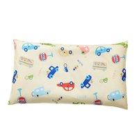 Soft Cartoon Bebê Almofada Respirável Infantil Cabeça Apoio Imprimir Algodão Bebê Descanso Decorativo Sono Positioner para Kids Room Decor LJ201209