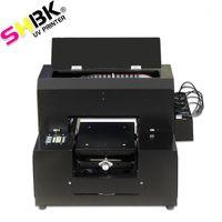 프린터 다기능 UV 플랫 베드 프린터 잉크젯 A4 전화 케이스, 가죽, 나무, 유리, T 셔츠, 펜, 아크릴, PVC Card1