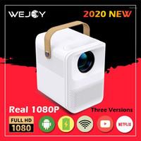 [REAL 1080P] Wejoy Y1 مصغرة جهاز العرض المحمولة FHD المدمج في البطارية القابلة لإعادة الشحن شاشات أندرويد تشارك الذكية LED1