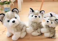 لطيف محاكاة الكلب أفخم لعبة أجش الكلب دمية لينة ومريحة وسادة الطفل هدية كل من الصبي وفتاة