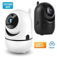 Cámaras YCC365 Plus Cámara IP Video Video 1080p WiFi Inicio Seguridad Inalámbrico Nube Auto Detección de movimiento CAM1