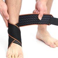 Supporto alla caviglia 1pc traspirante regolabile antiscivolo per il tallone del tallone protettivo wrap fitness sportswear 20211