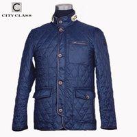 Stadtklasse Neuer Frühling Herbst Herbst Mantel Steppjacke Business Casual Fashion Bomber Jacke Mäntel für Männern 8006 201120