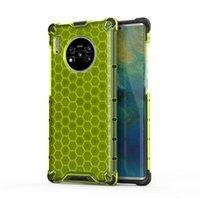 2020 جديد Honeycomb Hemming Fall Prevention TPU PC Case for iPhone 12 Mini 11 Pro Max Samsung S20 Plus Note 20 Ultra Huawei A31 P40 Pro