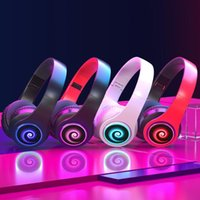 Luminous Head- mounted Headphone 400mAh Long Battery Life Wir...