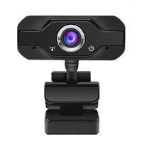 Веб-камеры 1080P HD Веб-камера Встроенные двойные MIC для настольных ноутбуков PC Game Cam Web Camera USB Pro Stream1