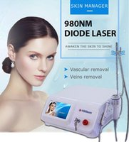 2021 Nouveau Taibo Beauty Hight Quality CE Air Colling Équipement 980nm Diode Laser Vasculaire Élimination Vasculaire 30W Cold Air Machine