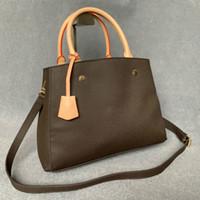مصمم حقيبة فاخرة ماسنجر حقيبة يد جلدية مقابض مع حزام الكتف حقيبة crossbody حقيبة الفرنسية