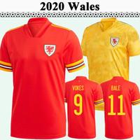 2020 Allen Ramsey Mens Soccer Tehersys Wales Национальная команда Bale Wilson Home Red Your Yellow Футбол Рубашка с коротким рукавом Униформа
