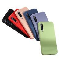 Custodia in TPU in silicone liquido imitato Slim Full Cover per Xiaomi 9 9SE 8 8 SE Lite Redmi Nota 7 Redmi Nota 8 Pro 2