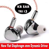 Kulaklıklar TRI I3 Düzensel Mıknatıs + Kompozit 8mm Dinamik Sürücü + Dengeli Armatür Sürücü Hibrid Kulaklık HIFI Metal MMCX Arphone + EVA Case1