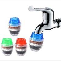 Mutfak Musluklar Ev Mini Musluk Hindistan Cevizi Karbon Dokunun Su Filtresi Temiz Arındırıcı Filtre Filtrasyon Kartuş Mutfak Aracı LSK2115