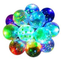 Moda creativa Valentine's Giorno di San Valentino Luminoso Balloon Trasparente Led Bobo Ball di Natale Regalo di Halloween per la festa Decorazioni di nozze E121803