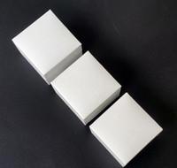 Papel blanco de alta calidad Original Logo Joyería Reticule Bolso de mano para Pandora Pulsera Collar Charms Jewelry Pulsera de Pandorgift Bolsas