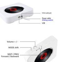 CD-плеер Настенный Bluetooth Portable Home Audio Boombox с дистанционным управлением FM-радио встроенные динамики HiFi USB MP3 UPS