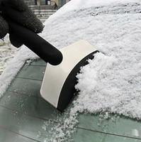 Durable Snow Scraper Do Scraper Do Windshield Auto Ice Remover Ferramenta Limpa Ferramenta Limpeza Ferramenta de Limpeza Inverno Acessórios de Lavagem Removedor de Neve Eeee3544
