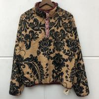 Hommes Kapital West Crips Noix de cajou Fleur Tiger Manteaux Vestes Down Coats coton chaud hiver