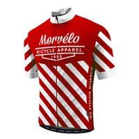 Ropa Ciclismo Morvelo Team Cycling Jersey Men Outdoor Sportswear Sólo manga corta Ropa de ciclismo de verano MTB Maillot Bike Uniform S2101282